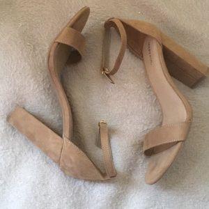 Merona tan heels
